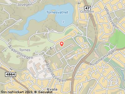 Kart som viser Kvalamarka 27, 5514 Haugesund