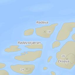 fleinvær kart 8094 Fleinvær på FINN kart